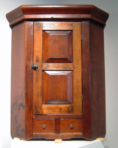 Hanging Corner Cupboard - Jelly Cupboard - Dig Antiques