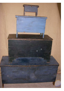 Blanket Box in Stack