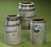 Stoneware Preserve Jars