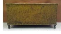grain painted blanket chest