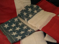 Antique Patriotic Bunting